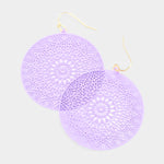 Lavender Ultra Lightweight Earrings
