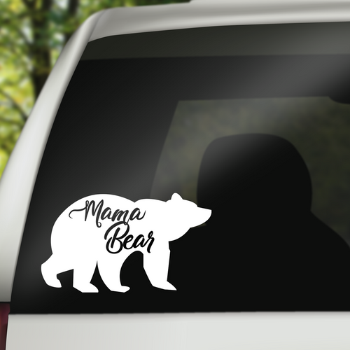 Mama Bear Decal