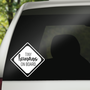 Tiny Humans Decal