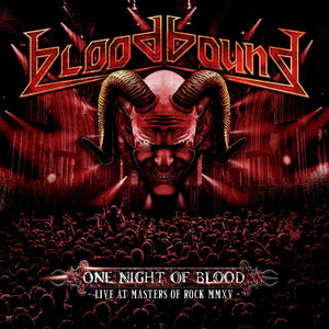 CD BLOODBOUND One Night of Blood: Live at Masters of Rock MMXV [Live] (édition digipack 2CD)