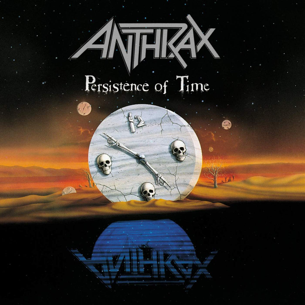 CD ANTHRAX Persistence Of Time