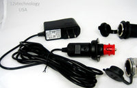 Stored Batteries Fits Hella BMW Powerlet Automatic Smart 12 V Trickle Charger - 12-vtechnology
