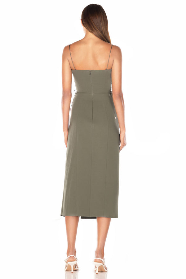 Misha Collection Desiree Dress Khaki