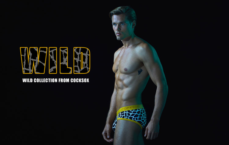 New Wild Collection underwear - ready for the animal in you!