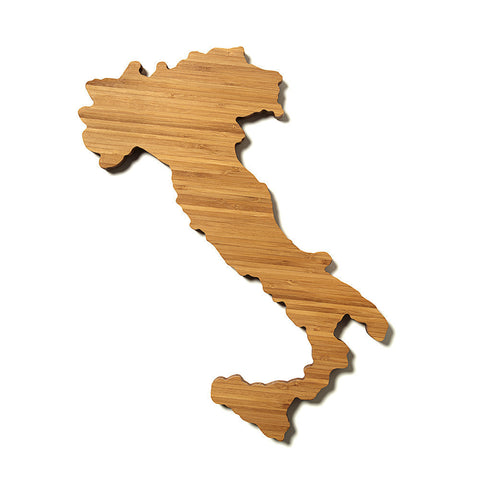 Italy Shaped Cutting Board by AHeirloom