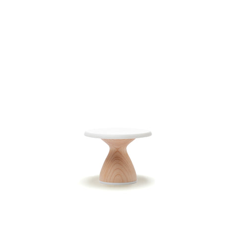 Maple Short - Mini Cake Stand Modern Cupcake Stand 4 inch - Shipping 3/31/19 by AHeirloom