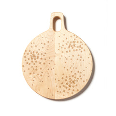 Star Clusters: 11-inch Round Cutting Board