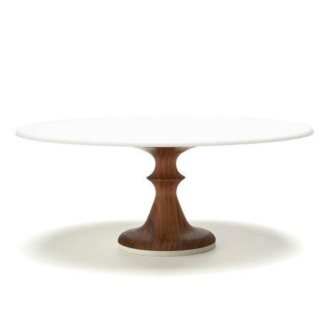 Wedding Cake Stand in Walnut - to SHIP LATE JUNE 2019 by AHeirloom