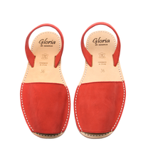 Rojo red Nubuck