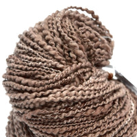 Brown Chunky Hand Spun Yarn in Merino Wool 11962| Hand Spun Yarn | Sally Ridgway | Shop Wool, Felt and Fibre Online