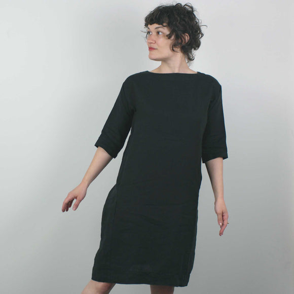 Nico Dress in SS Black