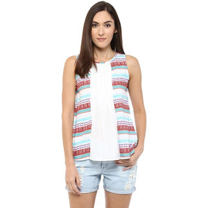 Multicolour Printed Top