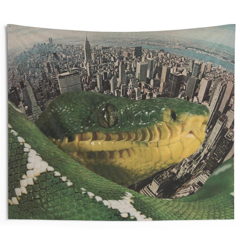 Serpent Skyline Tapestry