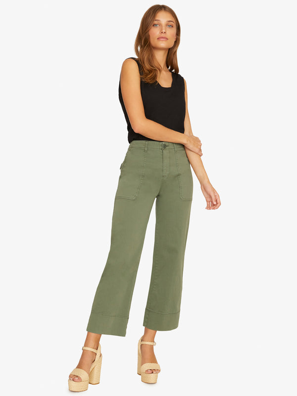 Unearthed Patch Pocket Pant Peace Green