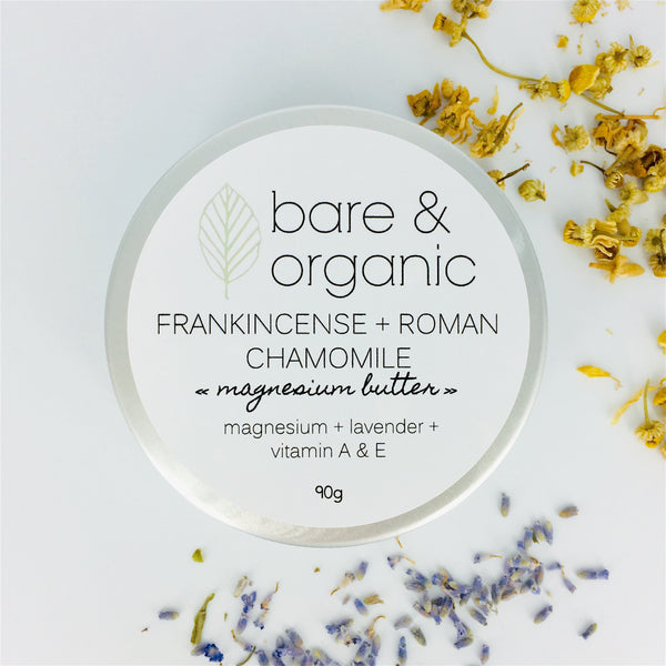 FRANKINCENSE + ROMAN CHAMOMILE || magnesium butter