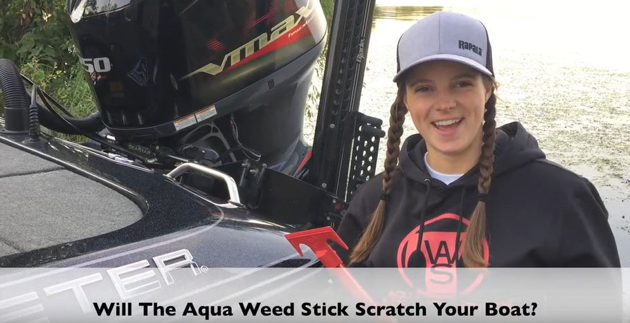 Will the Aqua Weed Stick Scratch Your Boat?