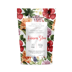 Dandelion Sun, Hibiscus Glow Beauty Tea