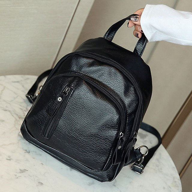Fashion Backpack   Women Girl Multifunction
