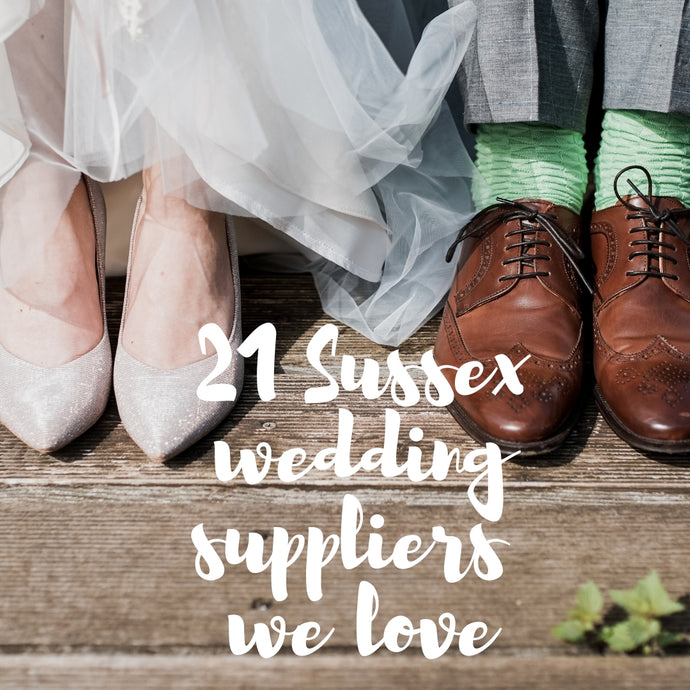 21 Sussex wedding suppliers we love