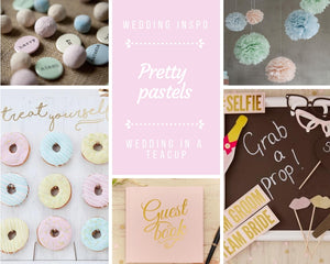Wedding trends we love: pretty pastels