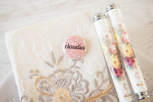 Personalised Ditsy Floral Name Badges