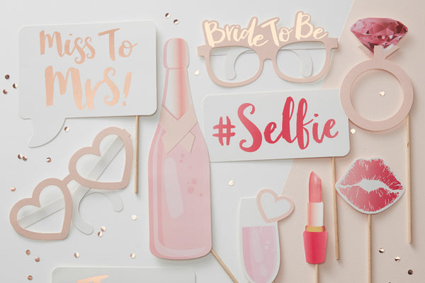 Hen Party Photo Booth Prop Kit