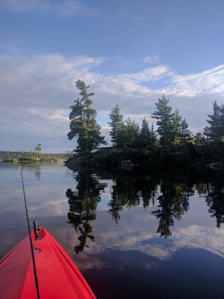 Kayaking in Quetico
