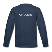 Load image into Gallery viewer, Superior Shoppe Kids' Premium Long Sleeve T-Shirt - navy