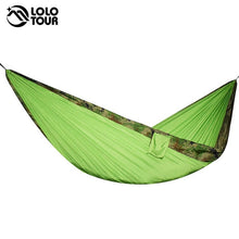 Load image into Gallery viewer, Two Person Portable Parachute Hammock