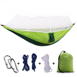 Ultralight Double Person Parachute Hammock With Mosquito Net