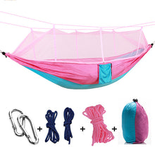 Load image into Gallery viewer, Ultralight Double Person Parachute Hammock With Mosquito Net