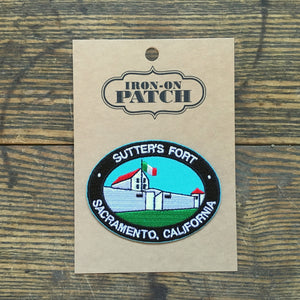 Sutter's Fort Iron-on Patch