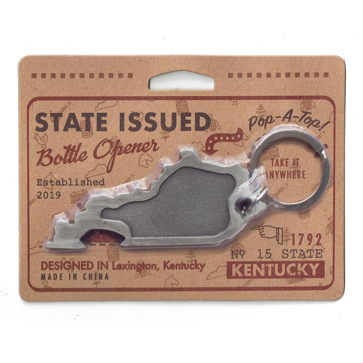 Kentucky Shaped Bottle Opener-Odds and Ends-KY for KY Store