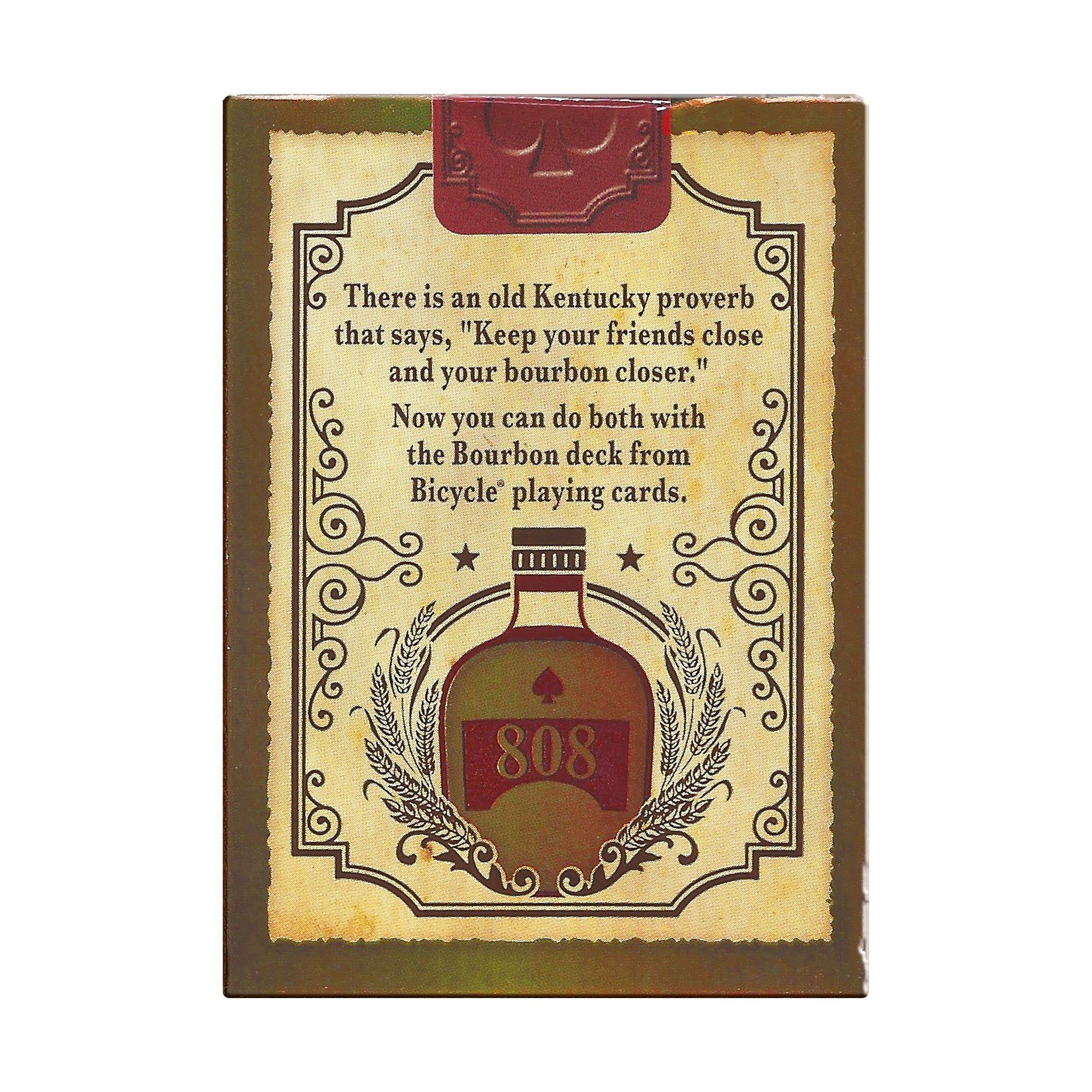 Bourbon Bicycle Playing Cards-Odds and Ends-KY for KY Store