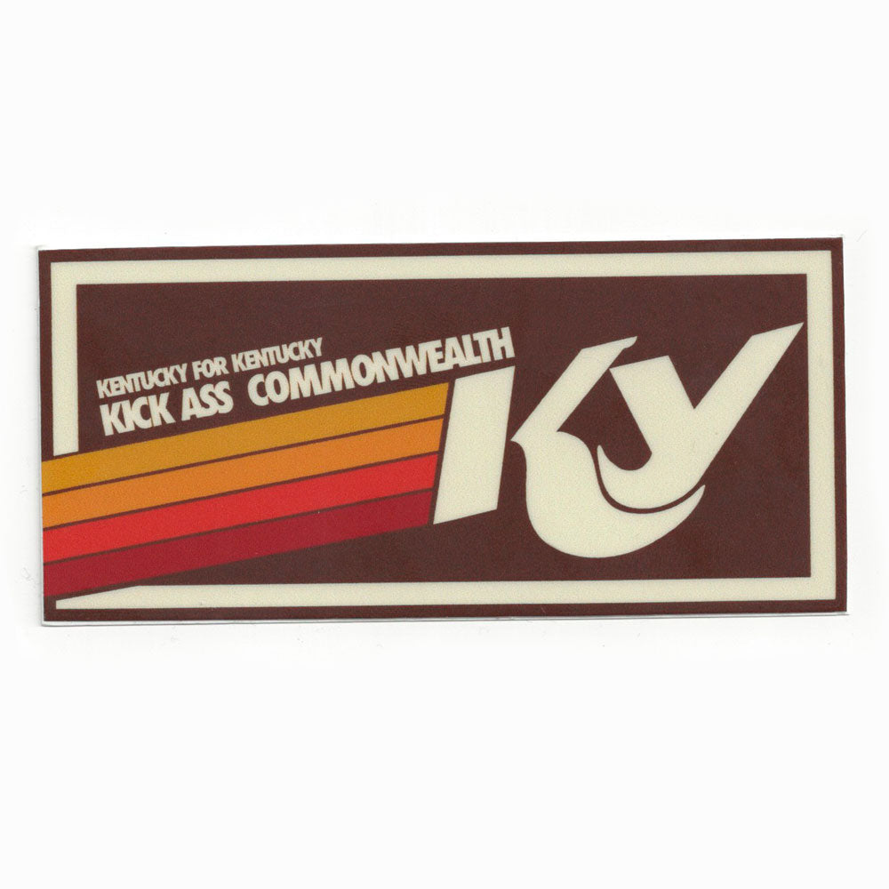 Kick Ass Commonwealth Sticker-Odds and Ends-KY for KY Store