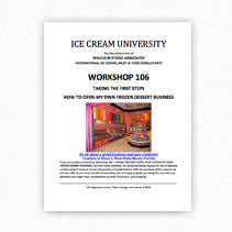 Official Manual: Taking the First Steps – How To Get Into the Ice Cream/Gelato Business