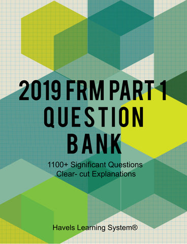Image of 2019 FRM Part 1 Question Bank - Booksgrab