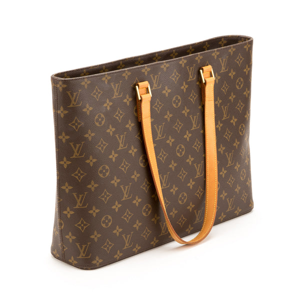 Louis Vuitton Monogram Luco Tote Bag (Authentic Pre Owned)