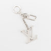 Louis Vuitton Silver Initials Key Holder Bag Charm (Authentic Pre Owned)
