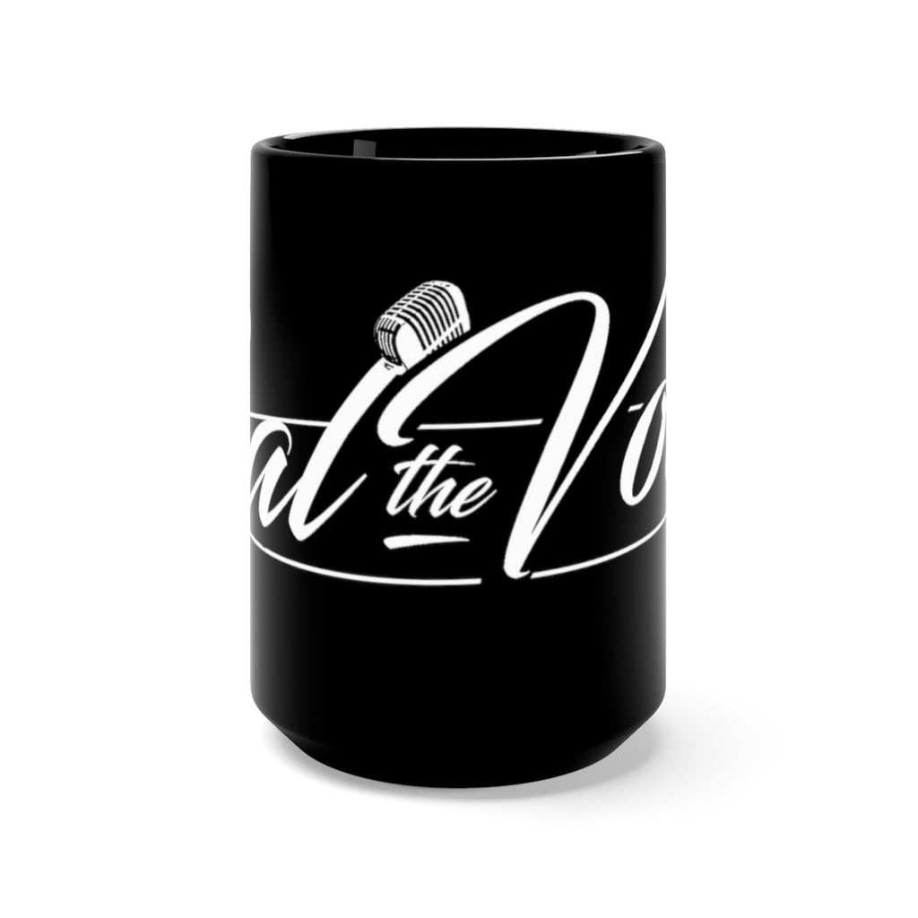 Sal The Voice Mug in Black