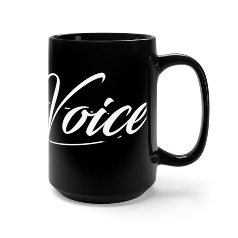 Image of Sal The Voice Mug in Black