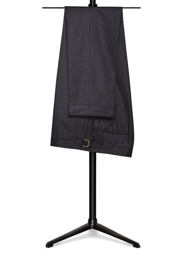 Charcoal Four Season Wool Trousers