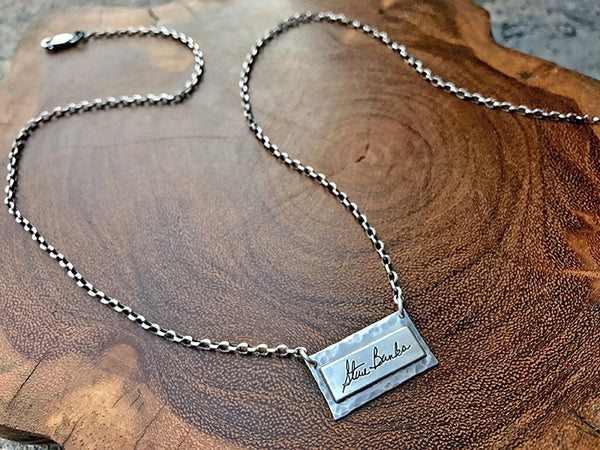 Handwritten Signature Necklace