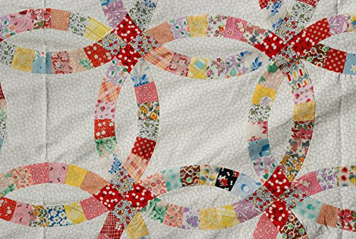 Pre Cut Double Wedding Ring Quilt Kit