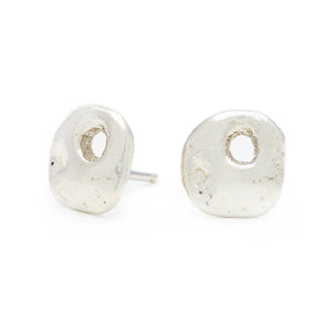 Honeycomb Stud Earrings - Johanna Brierley Jewellery Design
