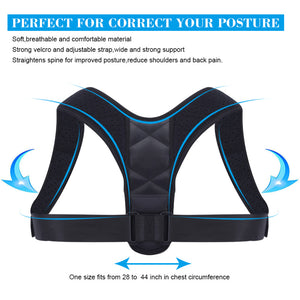 BackBrace™ Posture Corrector (Adjustable to All Body Size)