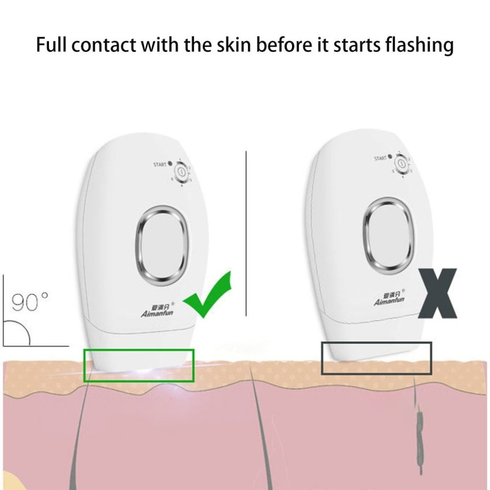 Laser Hair Removal - IPL laser epilator hair removal tools women