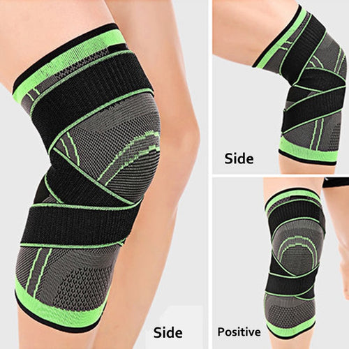 3D STRAPS HIGH STABILITY PROTECTION KNEE PADS