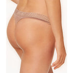 B Tempt'd Tied In Dots Thong Antler Nude