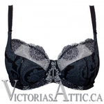 Empreinte Lilly Rose Uw Low Necked Bra Black